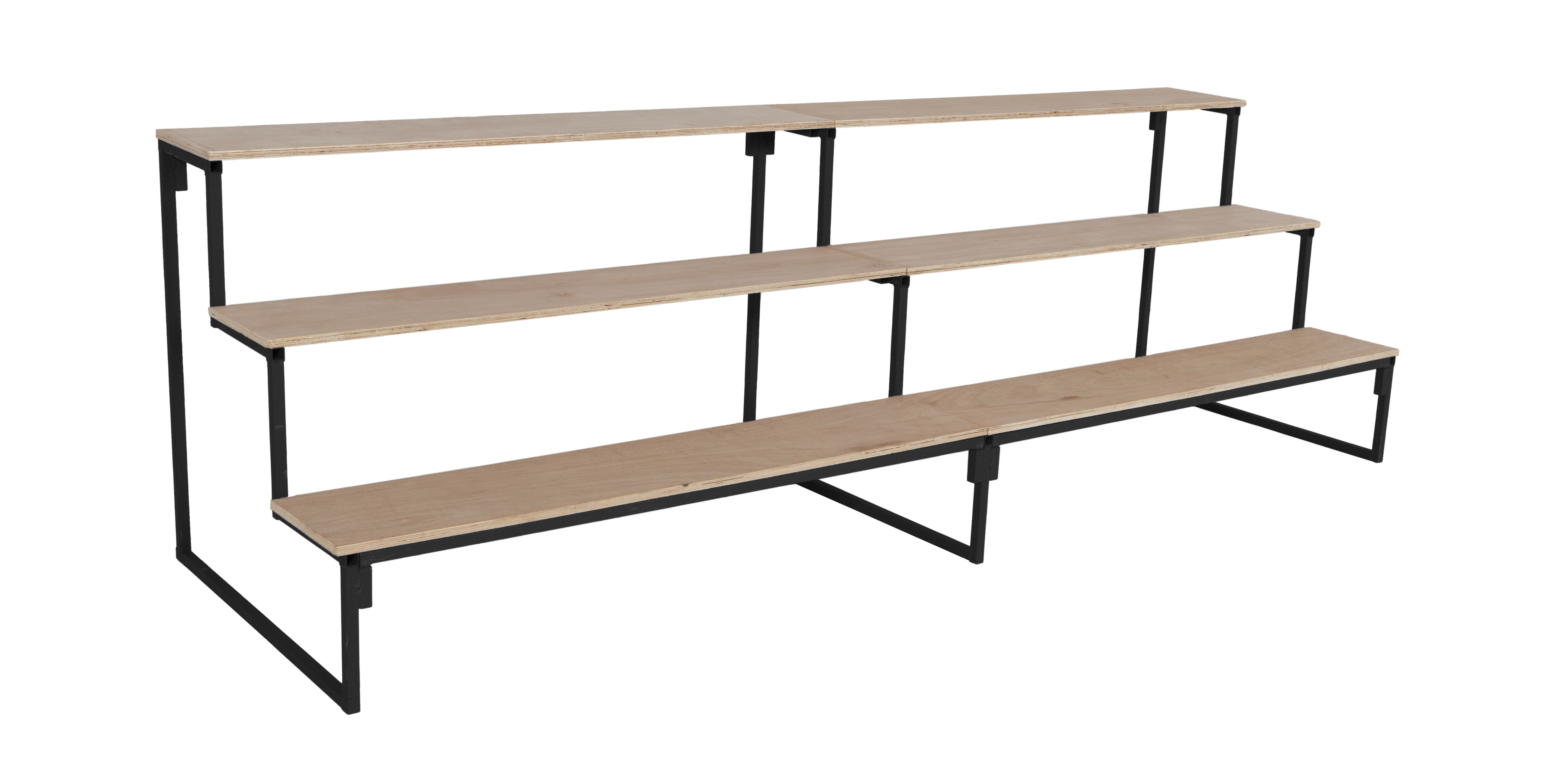 Stepped Shelf Units