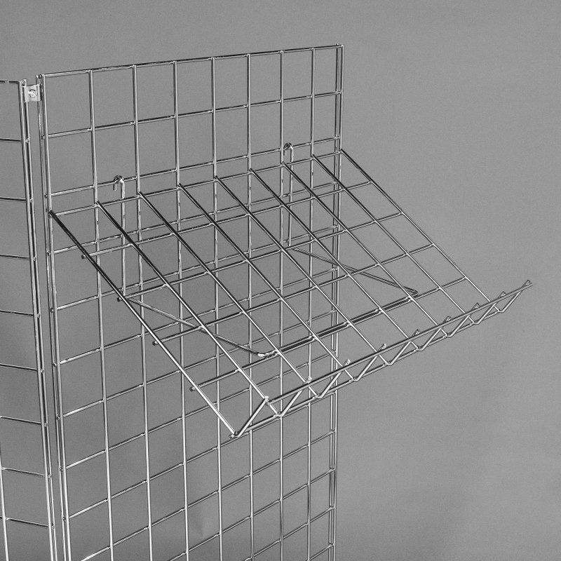 Large Sloping Mesh Shelf