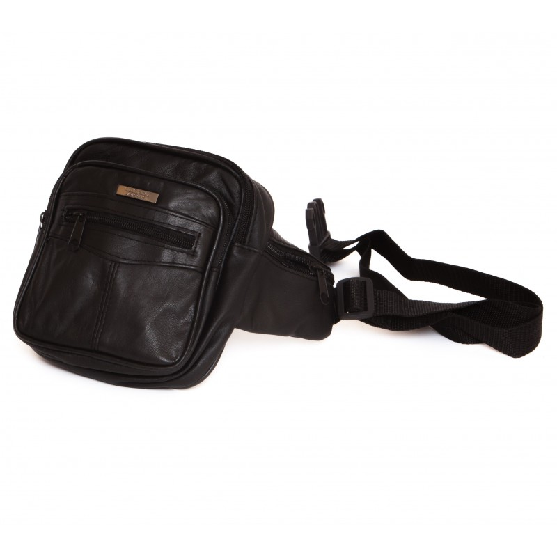 Traders Leather Bum Bag