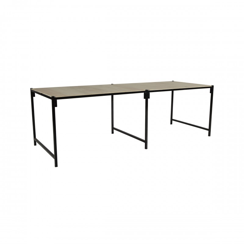 Apex Table – 3.7m x 0.9m - With Boards