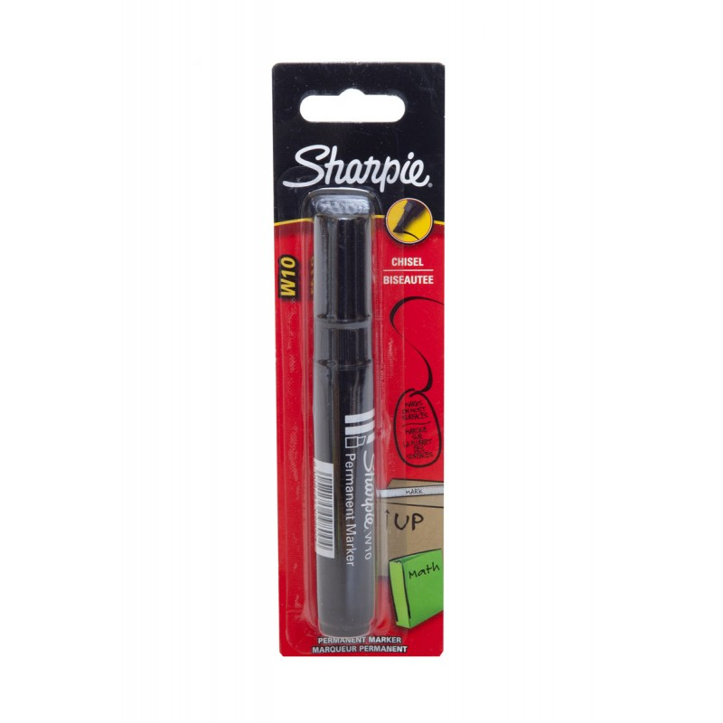 Papermate Permanent Black Chisel Marker