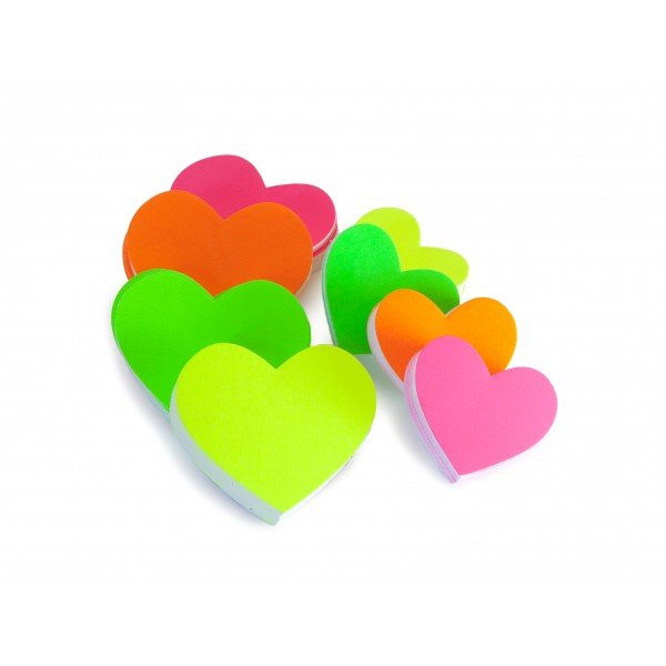 Fluorescent Hearts