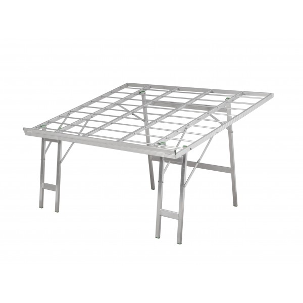 Aluminium Angled Table
