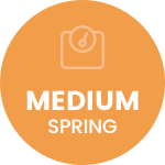 Spring strength badge